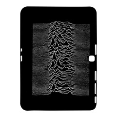 Grayscale Joy Division Graph Unknown Pleasures Samsung Galaxy Tab 4 (10 1 ) Hardshell Case