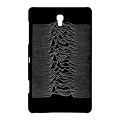 Grayscale Joy Division Graph Unknown Pleasures Samsung Galaxy Tab S (8 4 ) Hardshell Case