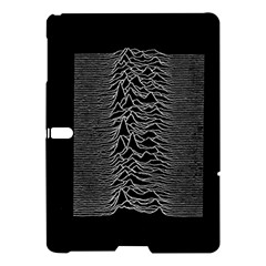 Grayscale Joy Division Graph Unknown Pleasures Samsung Galaxy Tab S (10 5 ) Hardshell Case