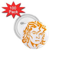 Michael Jackson 1 75  Buttons (100 Pack)