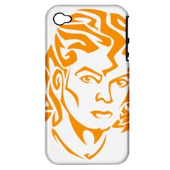 Michael Jackson Apple Iphone 4/4s Hardshell Case (pc+silicone)