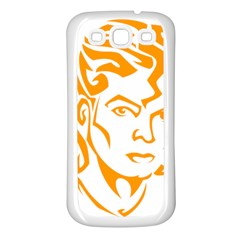 Michael Jackson Samsung Galaxy S3 Back Case (white)