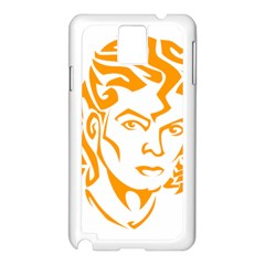 Michael Jackson Samsung Galaxy Note 3 N9005 Case (white)