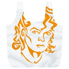 Michael Jackson Full Print Recycle Bags (l)