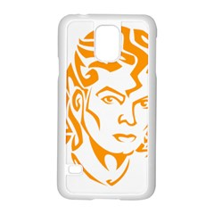 Michael Jackson Samsung Galaxy S5 Case (white)