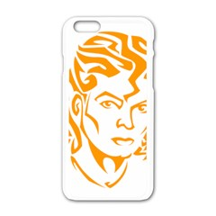 Michael Jackson Apple Iphone 6/6s White Enamel Case
