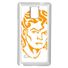 Michael Jackson Samsung Galaxy Note 4 Case (white)
