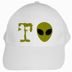 I Want To Believe White Cap