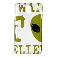 I Want To Believe Samsung Galaxy Note 3 N9005 Hardshell Case