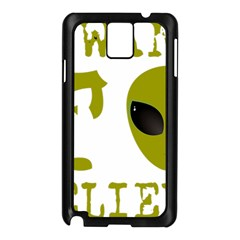 I Want To Believe Samsung Galaxy Note 3 N9005 Case (black)