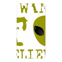 I Want To Believe Samsung Galaxy Note 3 N9005 Hardshell Back Case