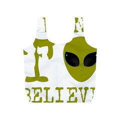 I Want To Believe Full Print Recycle Bags (s)
