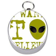I Want To Believe Silver Compasses