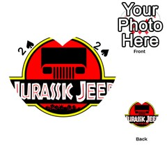 Jurassic Jeep Park Playing Cards 54 (heart)
