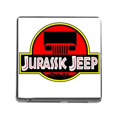 Jurassic Jeep Park Memory Card Reader (square)