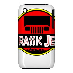 Jurassic Jeep Park Apple Iphone 3g/3gs Hardshell Case (pc+silicone)