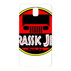 Jurassic Jeep Park Samsung Galaxy Note 3 N9005 Hardshell Back Case