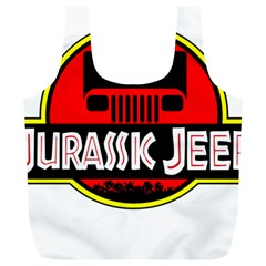 Jurassic Jeep Park Full Print Recycle Bags (l)
