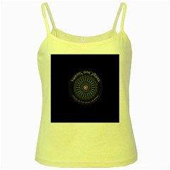 Twenty One Pilots Power To The Local Dreamder Yellow Spaghetti Tank