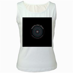 Twenty One Pilots Power To The Local Dreamder Women s White Tank Top