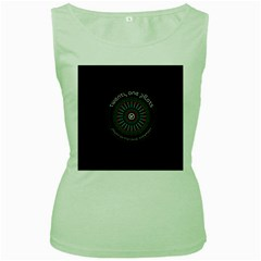 Twenty One Pilots Power To The Local Dreamder Women s Green Tank Top