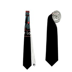 Twenty One Pilots Power To The Local Dreamder Neckties (one Side)