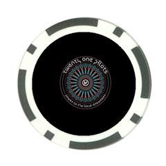 Twenty One Pilots Power To The Local Dreamder Poker Chip Card Guards