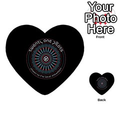 Twenty One Pilots Power To The Local Dreamder Multi Purpose Cards (heart)