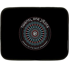 Twenty One Pilots Power To The Local Dreamder Fleece Blanket (mini)