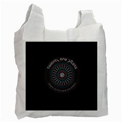 Twenty One Pilots Power To The Local Dreamder Recycle Bag (one Side)
