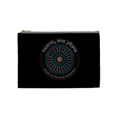 Twenty One Pilots Power To The Local Dreamder Cosmetic Bag (medium)
