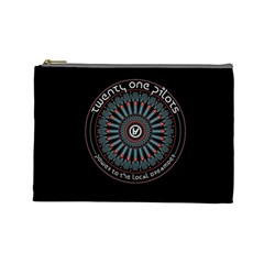 Twenty One Pilots Power To The Local Dreamder Cosmetic Bag (large)