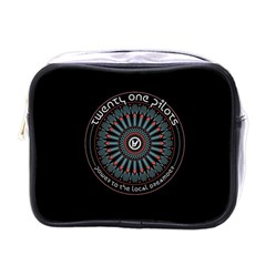Twenty One Pilots Power To The Local Dreamder Mini Toiletries Bags