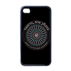 Twenty One Pilots Power To The Local Dreamder Apple Iphone 4 Case (black)