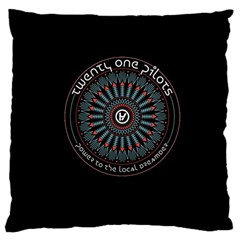 Twenty One Pilots Power To The Local Dreamder Large Cushion Case (two Sides)