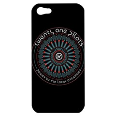 Twenty One Pilots Power To The Local Dreamder Apple Iphone 5 Hardshell Case