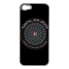 Twenty One Pilots Power To The Local Dreamder Apple Iphone 5 Case (silver)