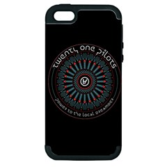 Twenty One Pilots Power To The Local Dreamder Apple Iphone 5 Hardshell Case (pc+silicone)