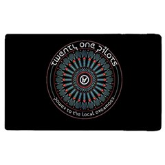 Twenty One Pilots Power To The Local Dreamder Apple Ipad 3/4 Flip Case