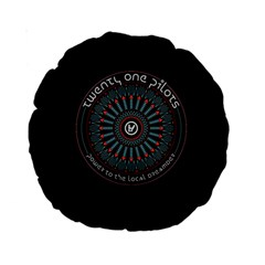 Twenty One Pilots Power To The Local Dreamder Standard 15  Premium Round Cushions