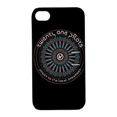 Twenty One Pilots Power To The Local Dreamder Apple Iphone 4/4s Hardshell Case With Stand