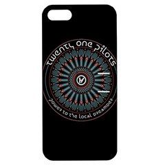 Twenty One Pilots Power To The Local Dreamder Apple Iphone 5 Hardshell Case With Stand
