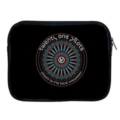 Twenty One Pilots Power To The Local Dreamder Apple Ipad 2/3/4 Zipper Cases