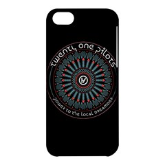 Twenty One Pilots Power To The Local Dreamder Apple Iphone 5c Hardshell Case
