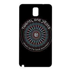 Twenty One Pilots Power To The Local Dreamder Samsung Galaxy Note 3 N9005 Hardshell Back Case