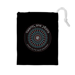 Twenty One Pilots Power To The Local Dreamder Drawstring Pouches (large)