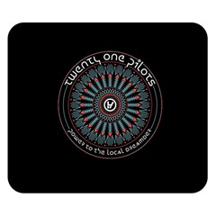 Twenty One Pilots Power To The Local Dreamder Double Sided Flano Blanket (small)