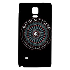 Twenty One Pilots Power To The Local Dreamder Galaxy Note 4 Back Case