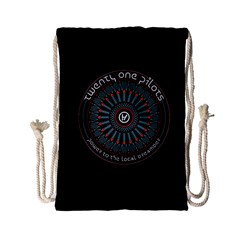 Twenty One Pilots Power To The Local Dreamder Drawstring Bag (small)