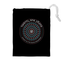 Twenty One Pilots Power To The Local Dreamder Drawstring Pouches (extra Large)